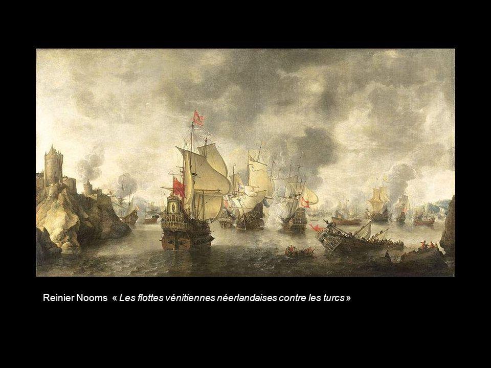 Aert Anthonisz « Une frégate française contre des pirates barbaresques »