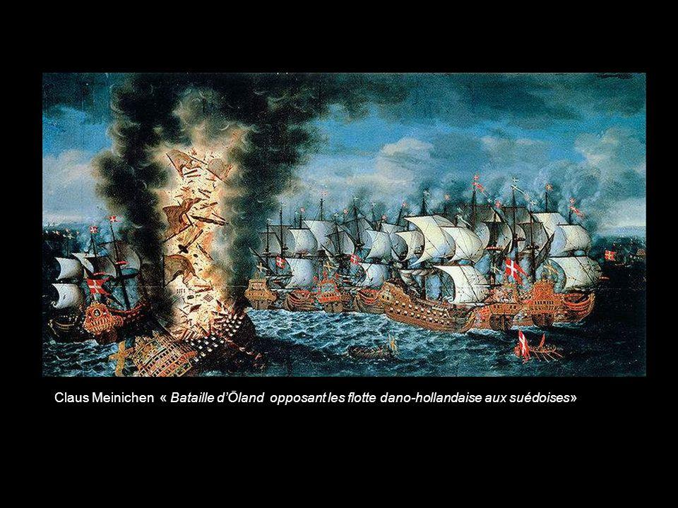 Reinier Nooms « Les flottes vénitiennes néerlandaises contre les turcs »