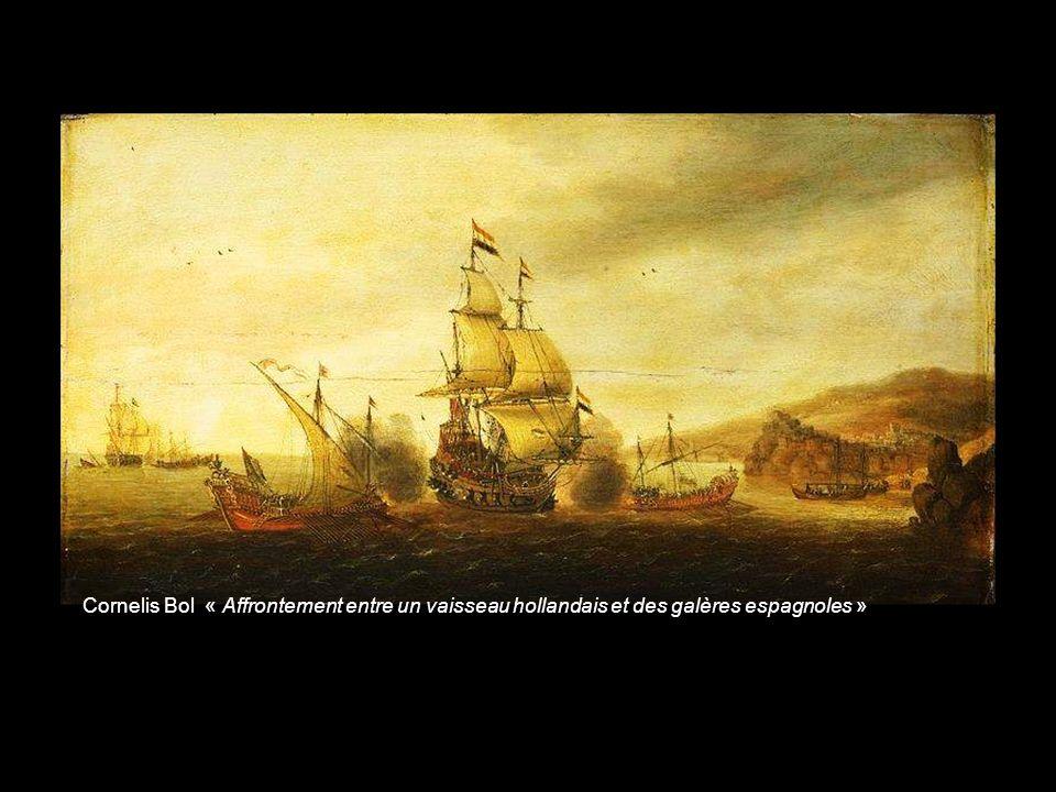 Cornelis Claesz van Wieringen « Bataille de Gibraltar anglo-espagnole en 1607»