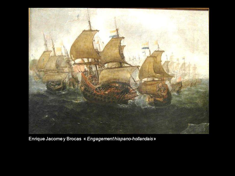 Cornelis Vroom « Un vaisseau espagnol aux prises avec des corsaires barbaresques»