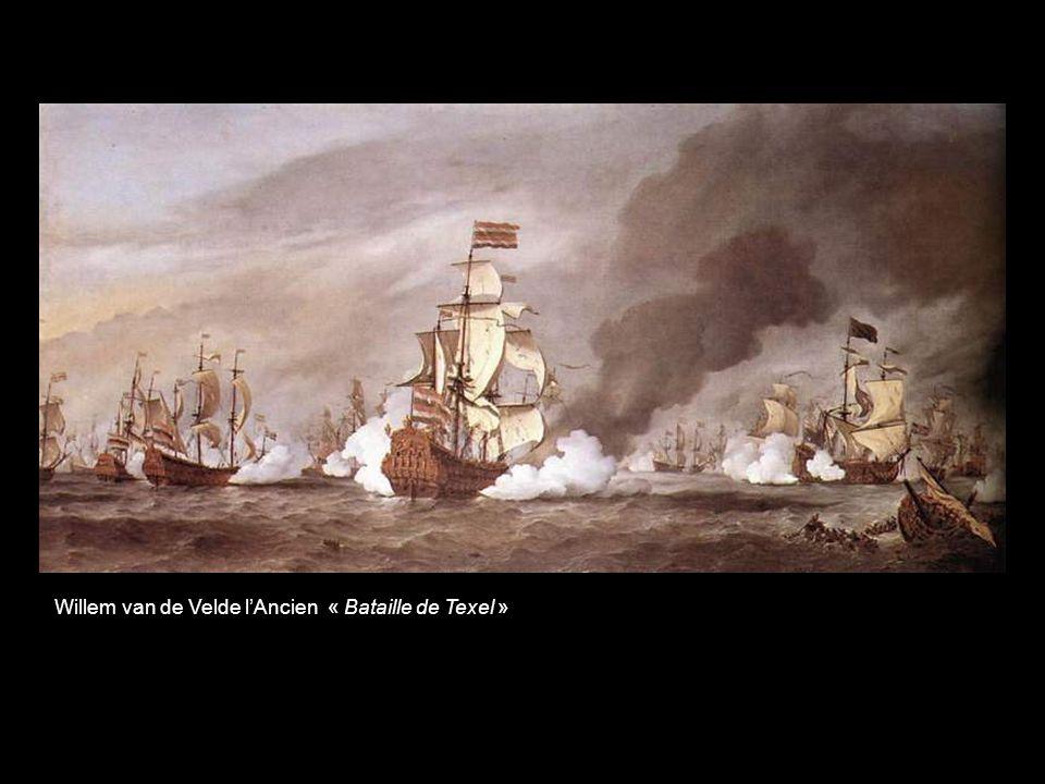 Jean Karel Donatius van Beeck « Bataille de Solebay – coalition franco-anglaise contre la Hollande – Le Saint Philippe, navire amiral français »