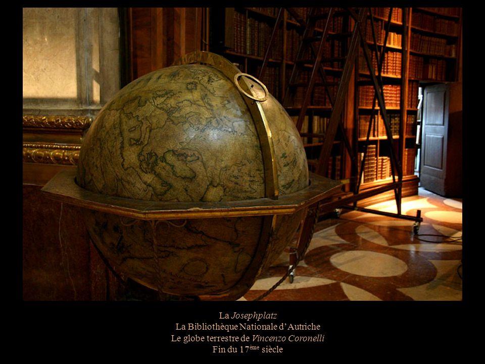 La Josephplatz La Bibliothèque Nationale dAutriche La bibliothèque privée dEugène de Savoie