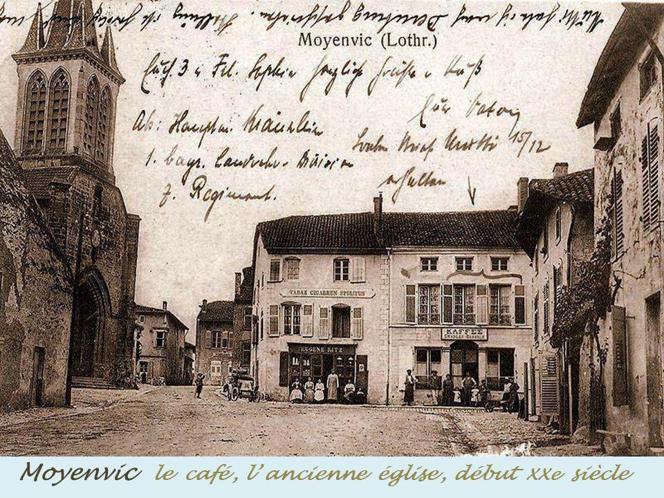 Marsal Porte de France Poterne Sud