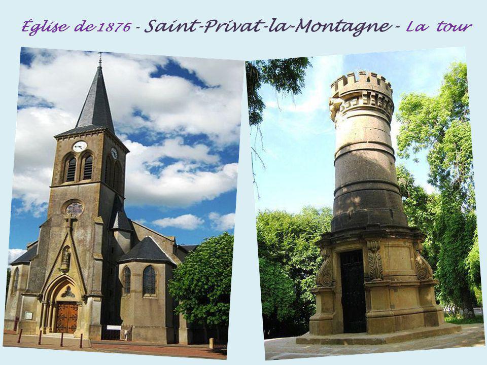 Metz plan deau Saint-Symphorien. et la cathédrale Saint-Étienne