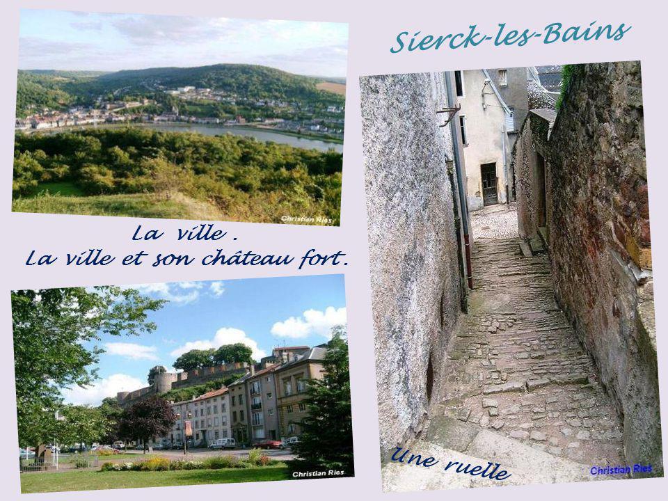 Sierck-les-Bains la ville