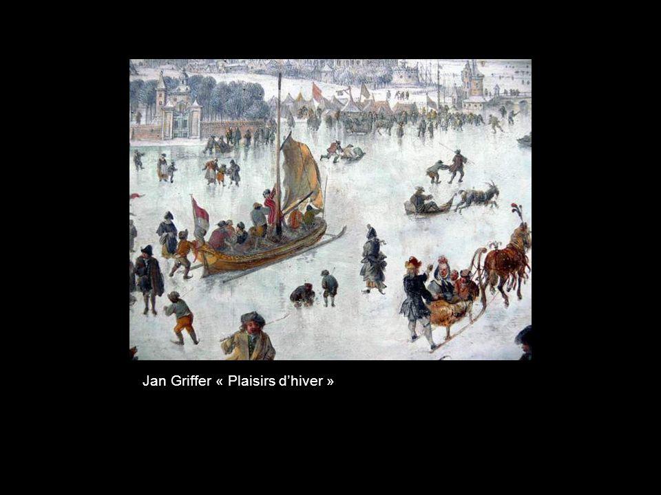 Isaac van Ostade « Paysage dhiver »