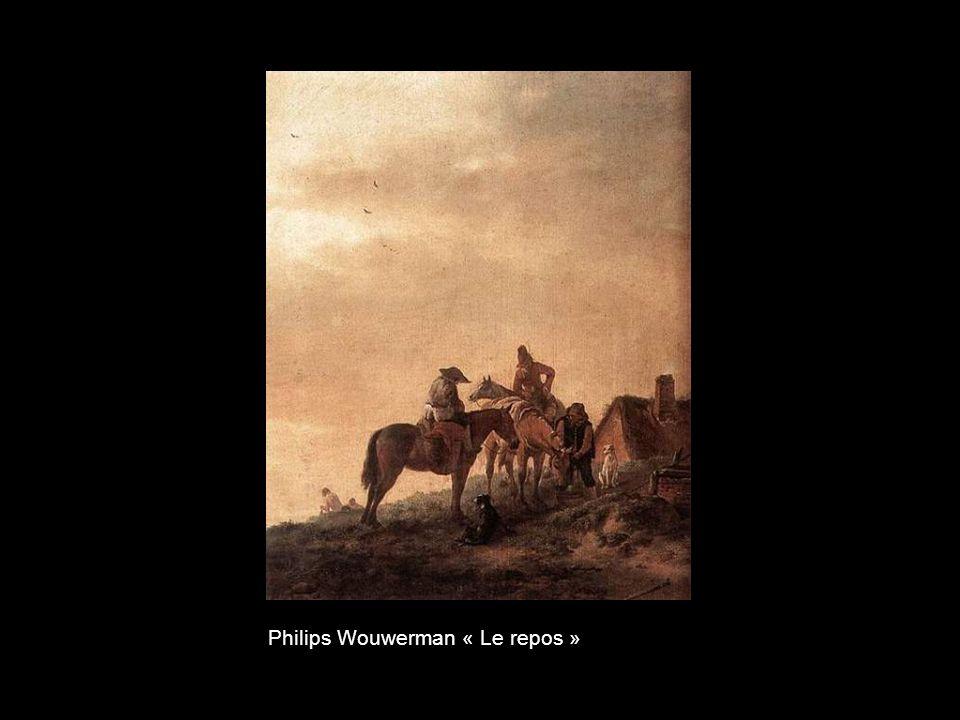 Karel Dujardin « Paysage dans la campagne romaine »