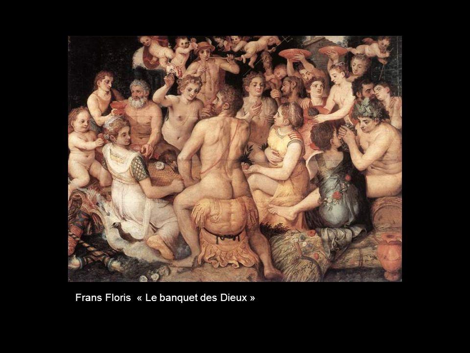 Frans Floris « La rébellion des anges »