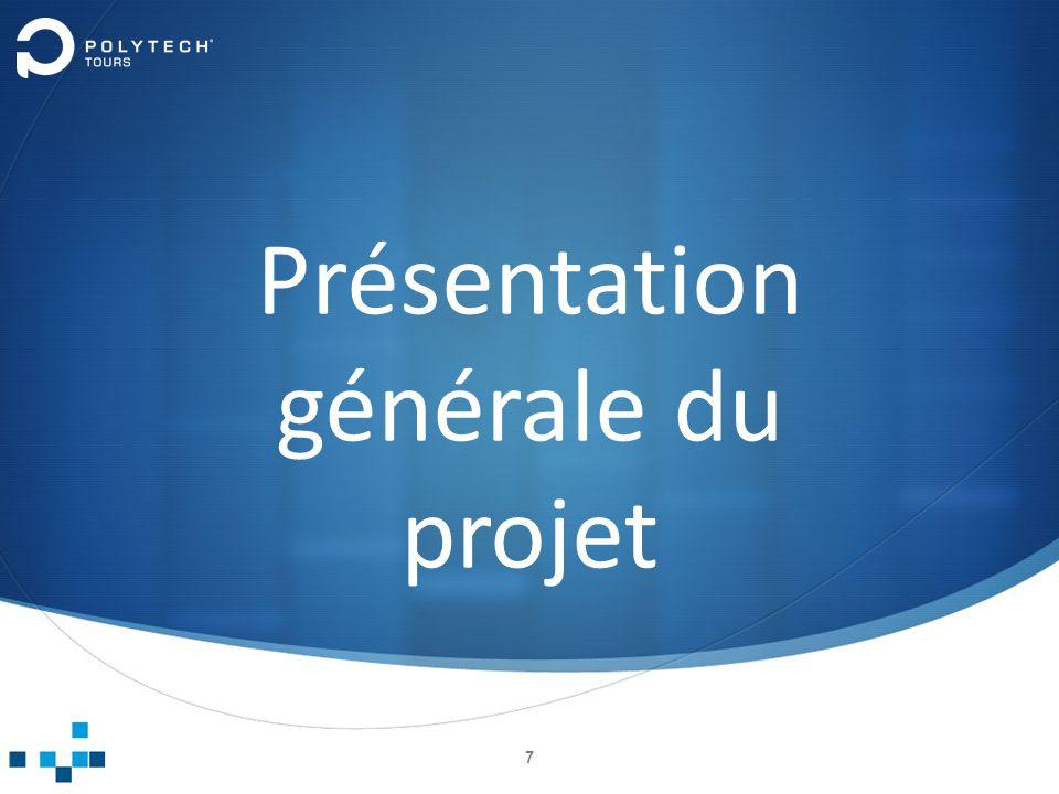 Présentation générale du projet 7
