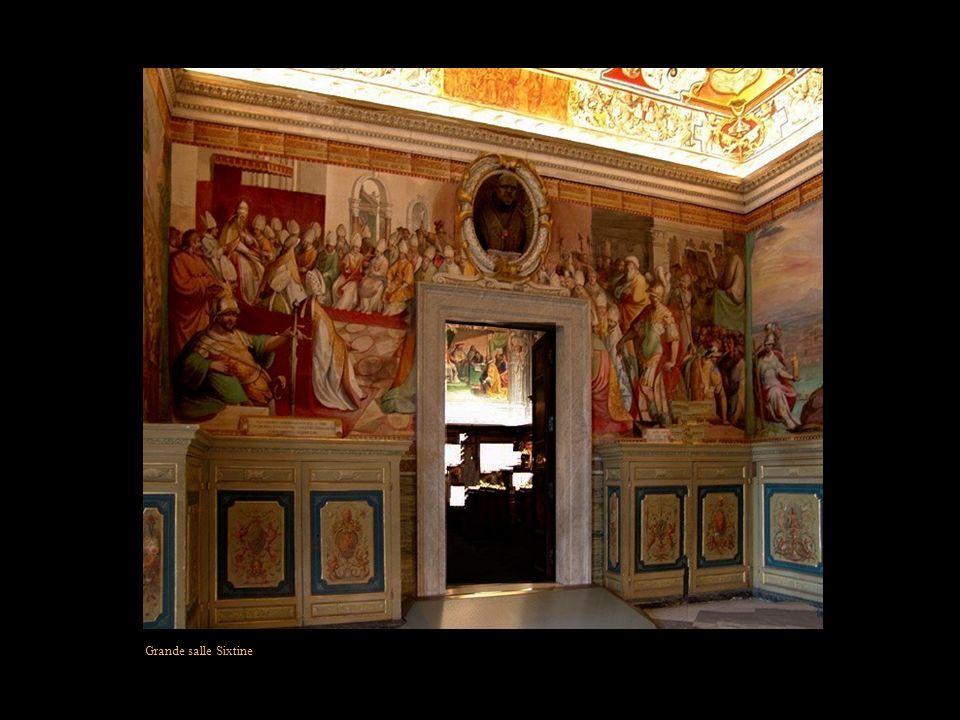 Grande salle Sixtine