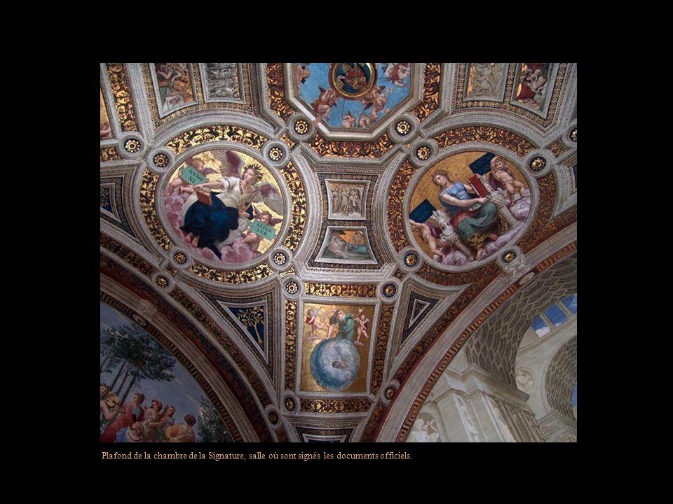 Bibliothèque Apostolique Vaticane - Lune des plus anciennes bibliothèques au monde -