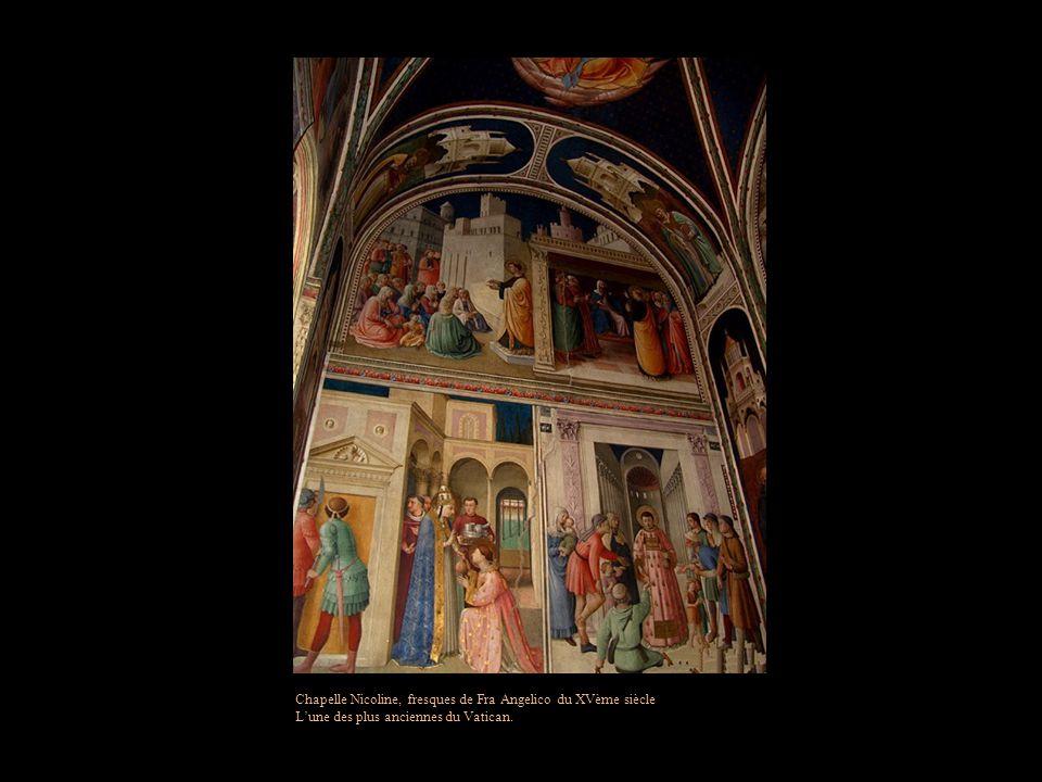 Chambre de lincendie du Borgo, salle à manger ordinaire du Pape Léon X