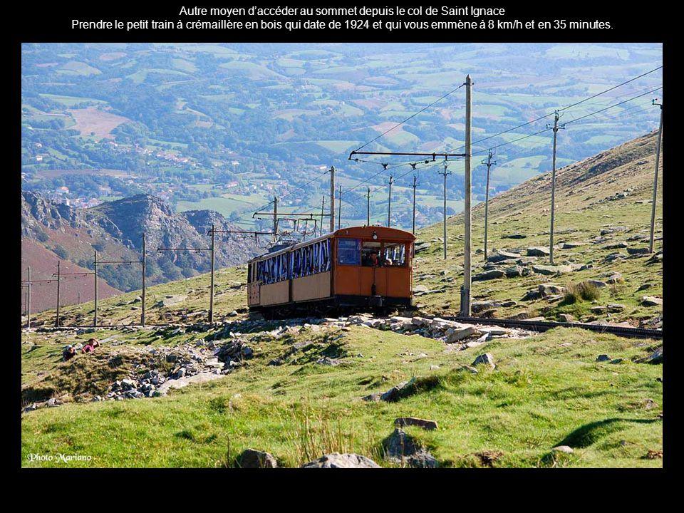 .... Sommet de la Rhune altitude 900m....