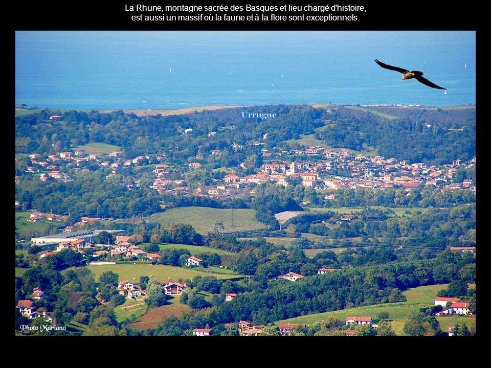 .... Panorama sur la baie de Saint-Jean-de-Luz....
