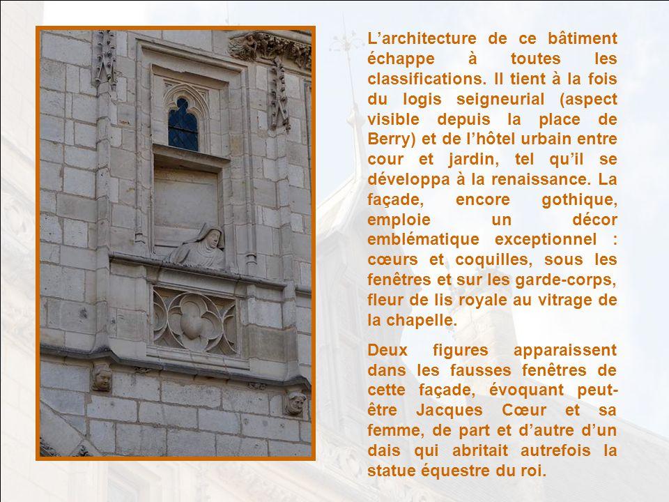 Jacques Cœur et Jeanne dArc, à des titres très différents, furent deux grandes figures qui marquèrent le règne de Charles VII, que lon appelait