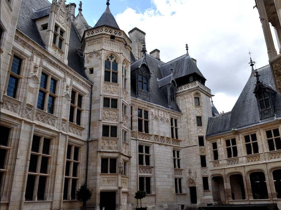 Le Palais de Bourges fut appelé autrefois
