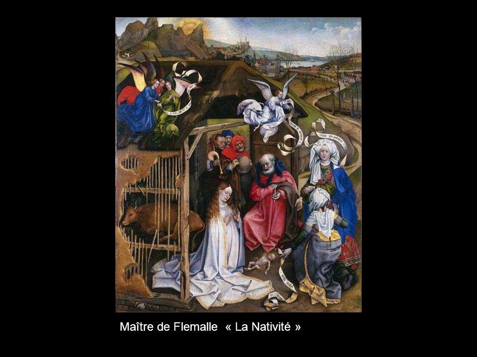 Maître de Flemalle « La Nativité »