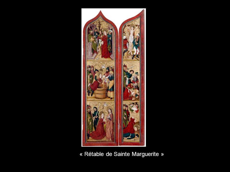 « Rétable de Sainte Marguerite »