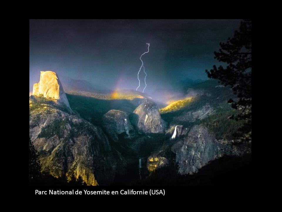 Parc National de Yosemite en Californie (USA)
