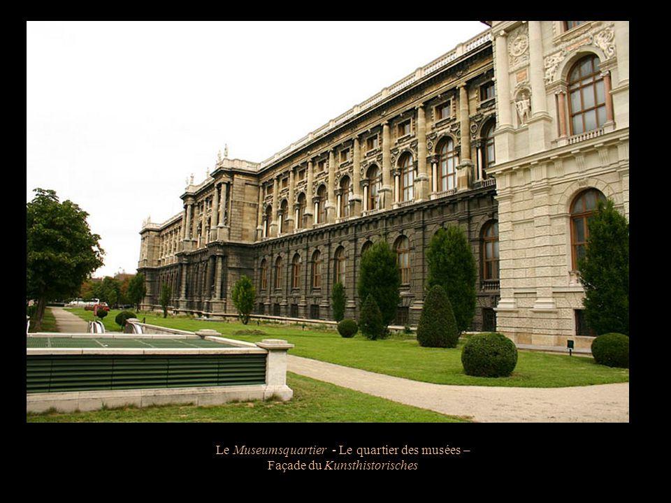 Lensemble constitué de la Hofburg, du Kunsthistorisches Museum et du Naturhistorisches Museum forme lune des plus grandes aires culturels du monde. Le