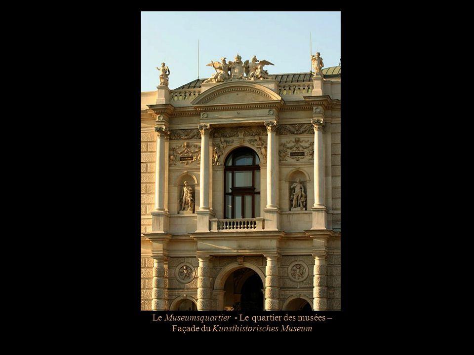 Le Museumsquartier - Le quartier des musées – Façade du Kunsthistorisches