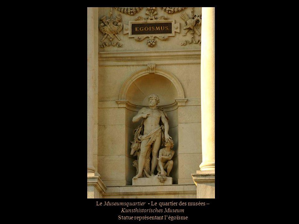 Le Museumsquartier - Le quartier des musées – Lentrée du Kunsthistorisches Museum