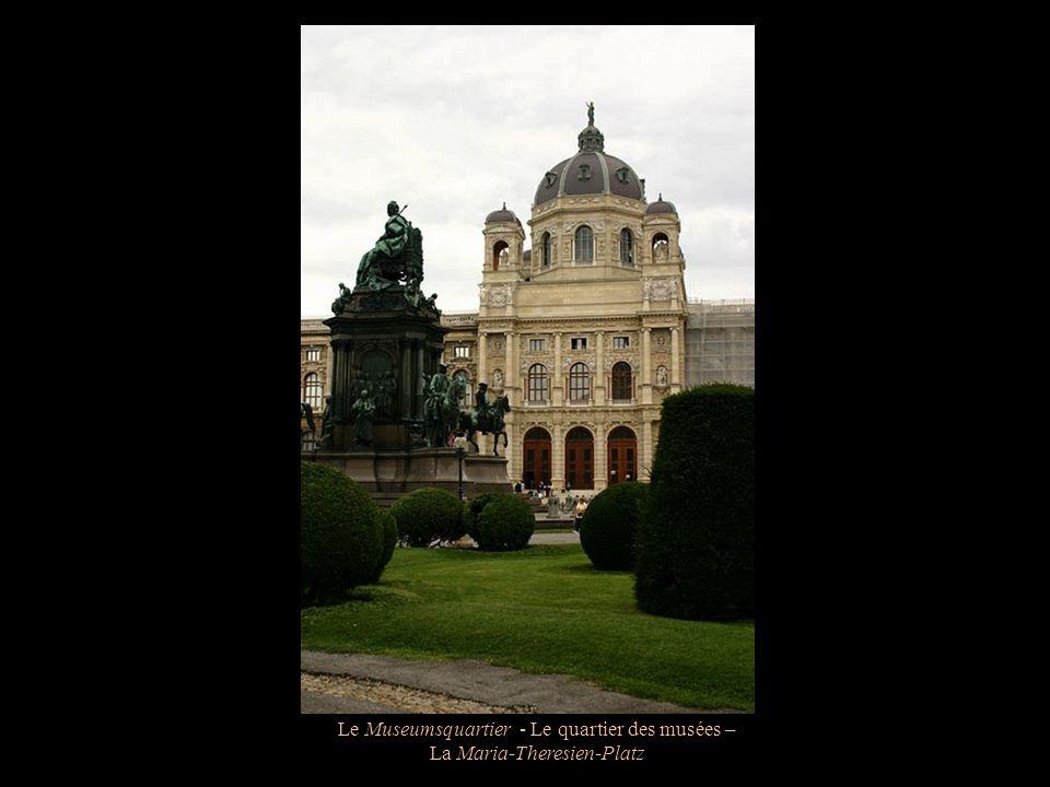 Le Museumsquartier - Le quartier des musées – Le Leopold Museum
