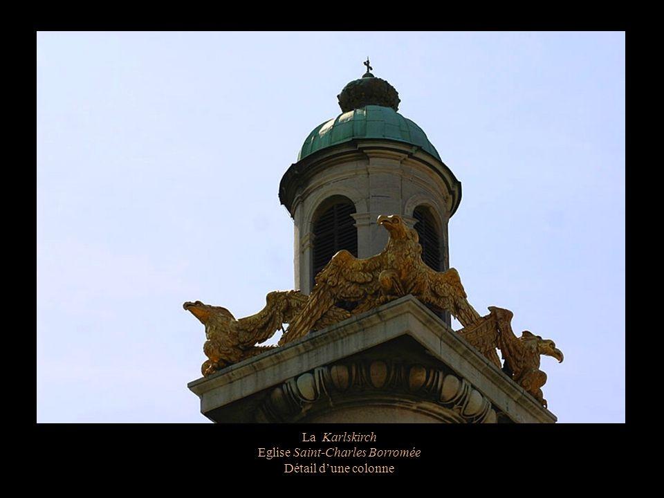 La Karlskirch Eglise Saint-Charles Borromée Le dôme de cuivre