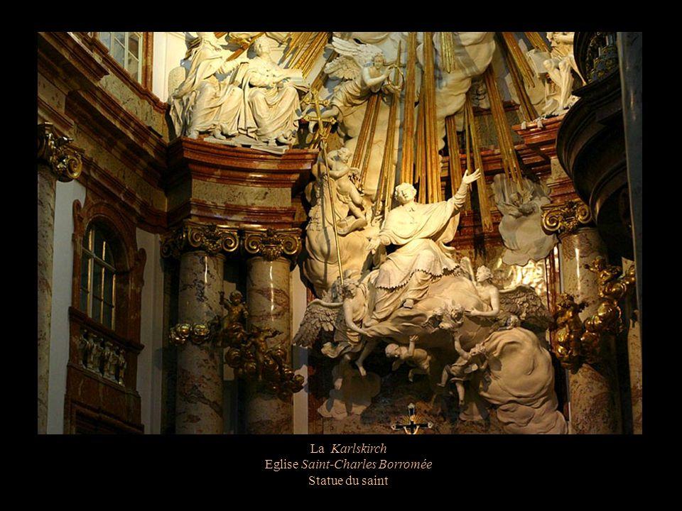 La Karlskirch Eglise Saint-Charles Borromée