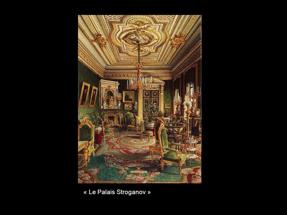 « Le Palais Stroganov »