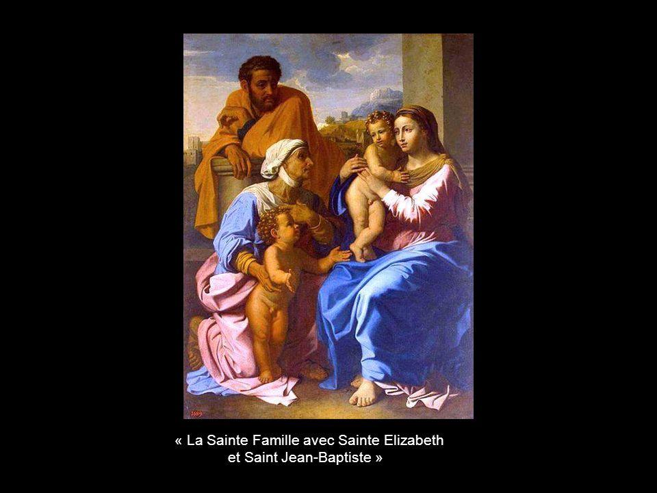 « Moïse faisant jaillir leau du rocher »