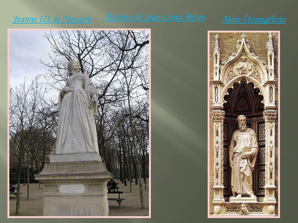 Jeanne III de Navarre Œuvres de Jean-Louis Brian Marc l évangéliste