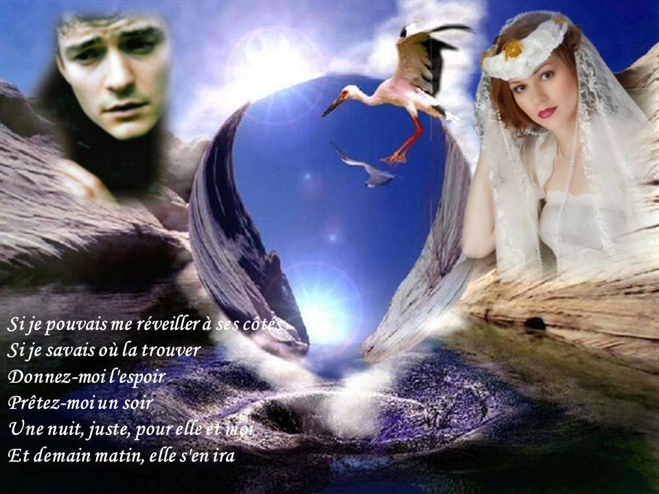 Je l'ai rêvée si fort Que les draps s'en souviennent Je dormais dans son corps Bercé par ses « Je t'aime ».