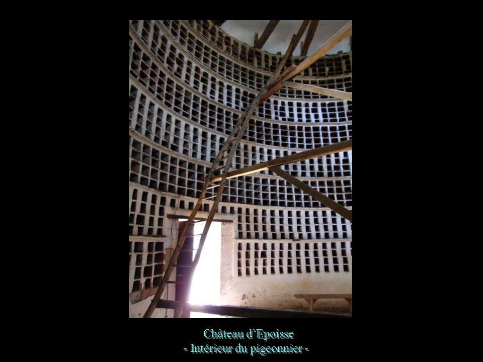 - Le pigeonnier - Château dEpoisse - Le pigeonnier -