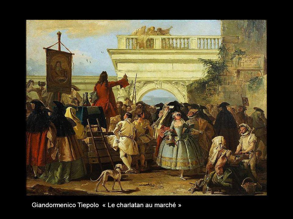 Giandormenico Tiepolo « Le menuet »