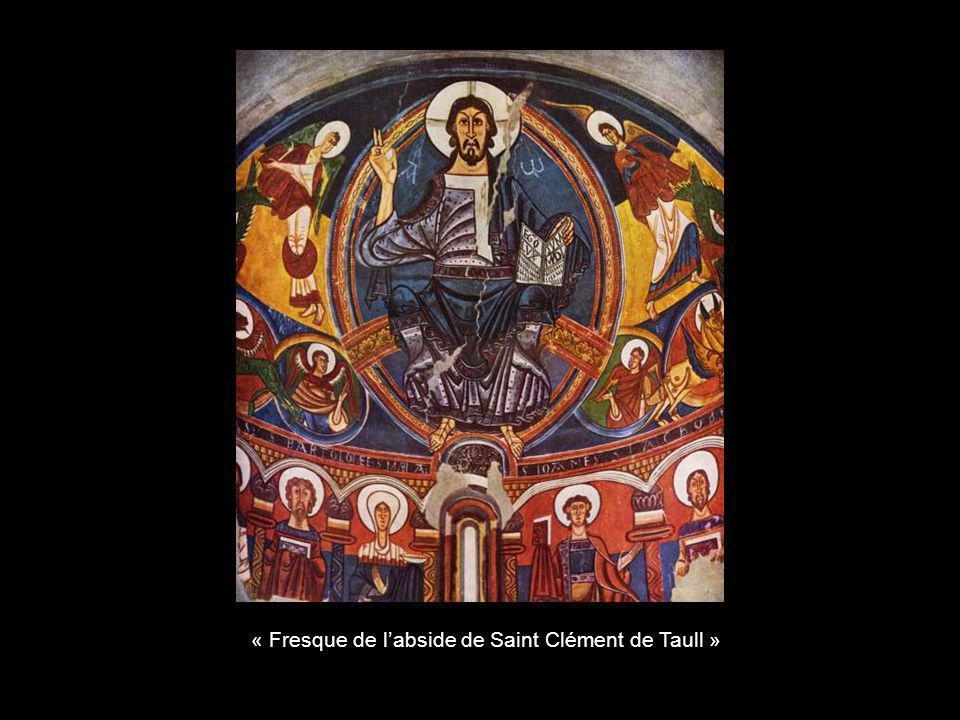 « Fresque de labside de Saint Clément de Taull »