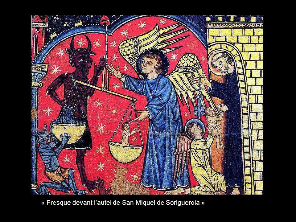 « Fresque devant lautel de lermitage de San Quitc de Durro »