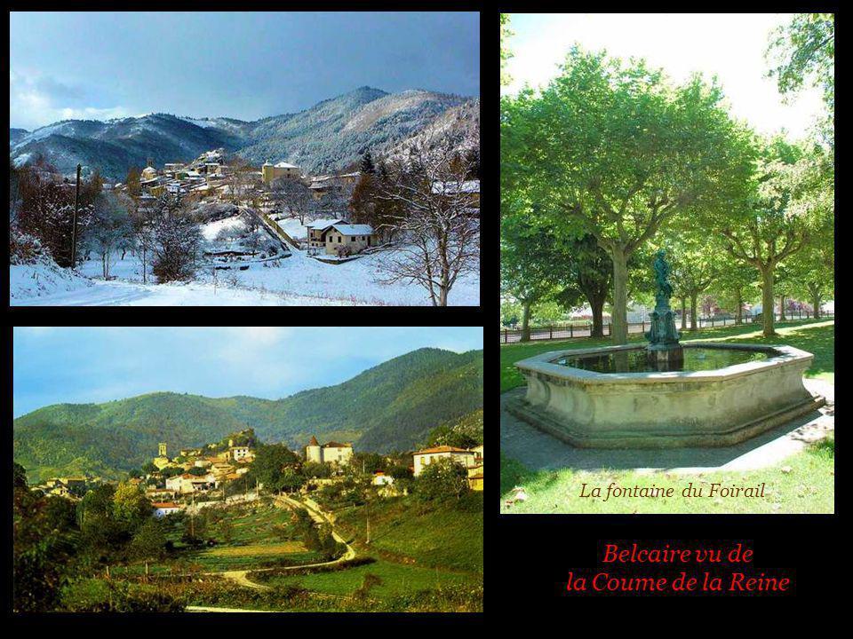 Les chalets de la Coume de Ferrières et Le lac de Belcair e