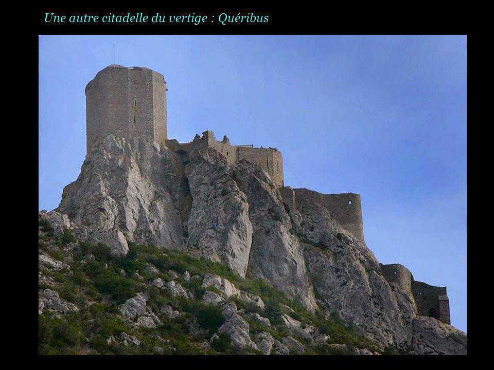 La citadelle de Peyrepertuse