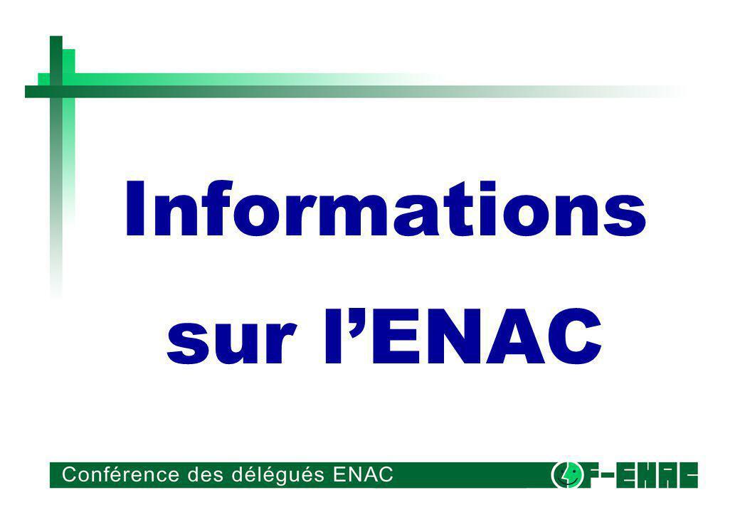 Informations sur lENAC