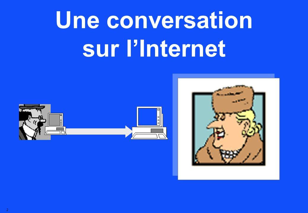 2 Une conversation sur lInternet