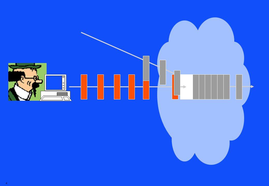 3 Pourquoi cette mauvaise qualité Sur lInternet, linformation est mise en paquets