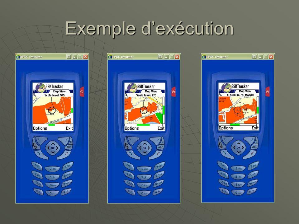 Exemple dexécution