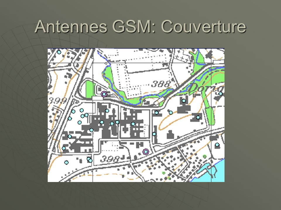 Antennes GSM: Couverture