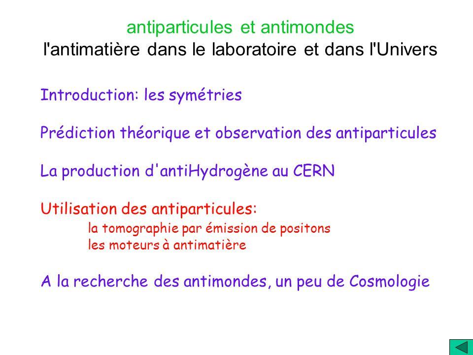 A. Bay Mai 2002 Antimatière Antiparticules Antimondes Matière