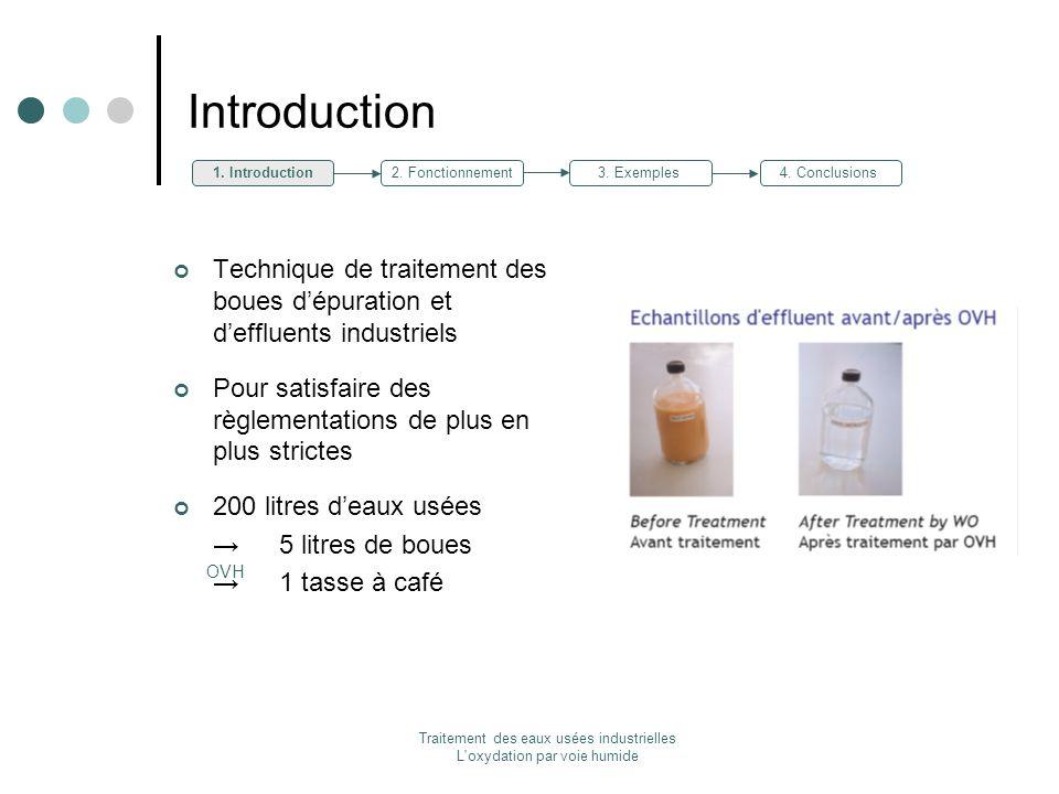Traitement des eaux usées industrielles L'oxydation par voie humide Technique de traitement des boues dépuration et deffluents industriels Pour satisf
