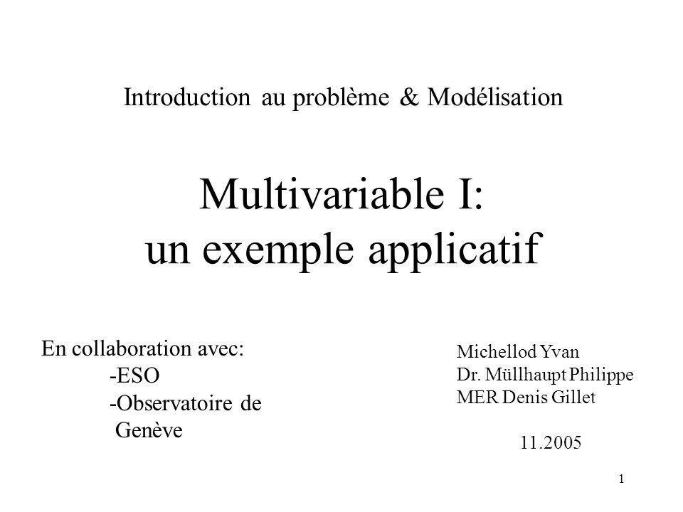 31 Comparaison: Continu/Discret Matlab: Md=c2d(Mc,h)