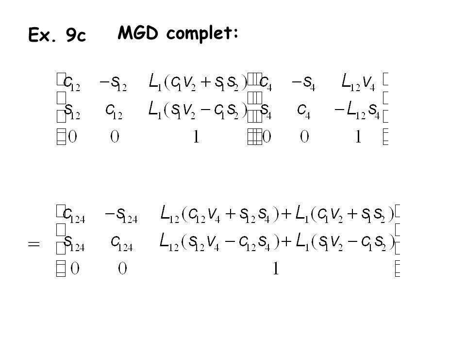 Ex. 9c MGD complet: =