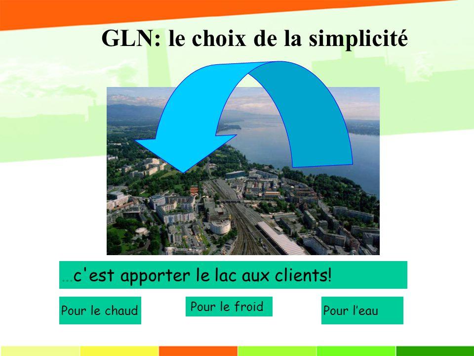 GLN: le choix de la simplicité...c est apporter le lac aux clients.