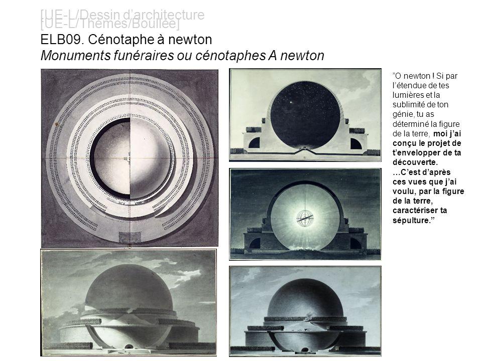 [UE-L/Dessin darchitecture [UE-L/Thèmes/Boullée] ELB09.